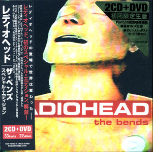 The Bends (1995) 2CD Japanese Special Edition 2009 - Radiohead