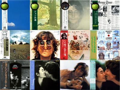 Japanese Mini LP Collection (1969-1984) - John Lennon