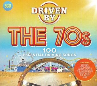 Driven By The 70's (Box Set 5 CD's - Various Artists